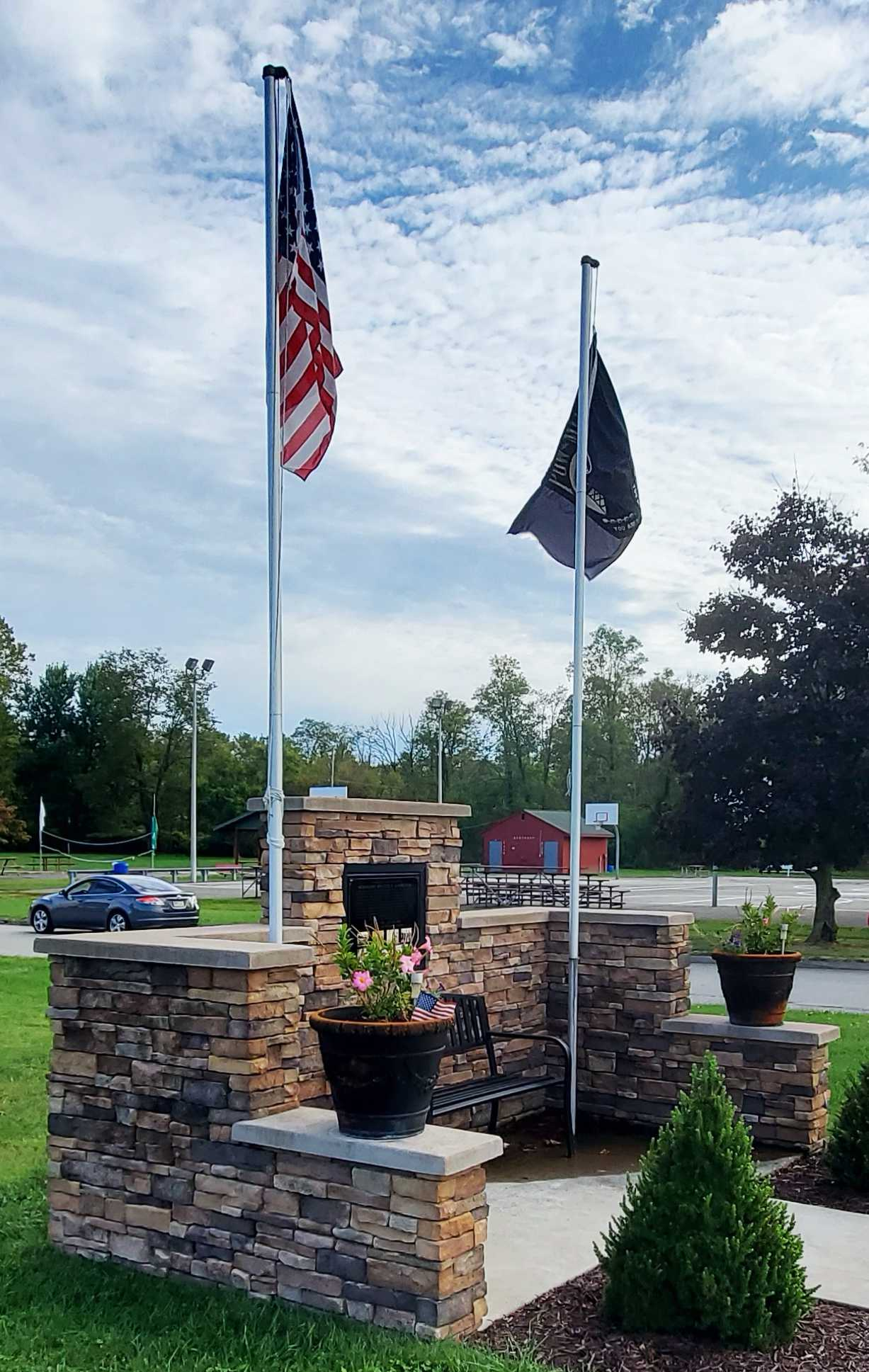 Sergeant Walter E. Kasievich Memorial at Karnuts Auto Center